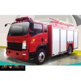 howo H3 fire truck