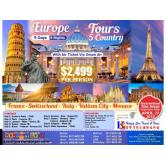 9D8N Europe 5-Country Tour All-In Package via Oman Air