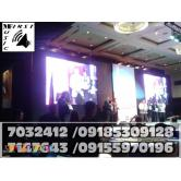 LED SCREEN VIDEO WALL RENTAL MANILA@7032412,7147643,09155970196