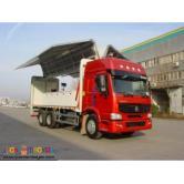 10 Wheeler HOWO Wing Van Truck