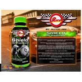 Rota shield treatment fortifies motor oil fighting additives
