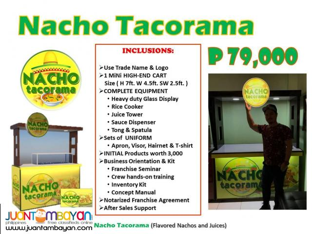 Nacho Tacorama Food Cart Franchise Business