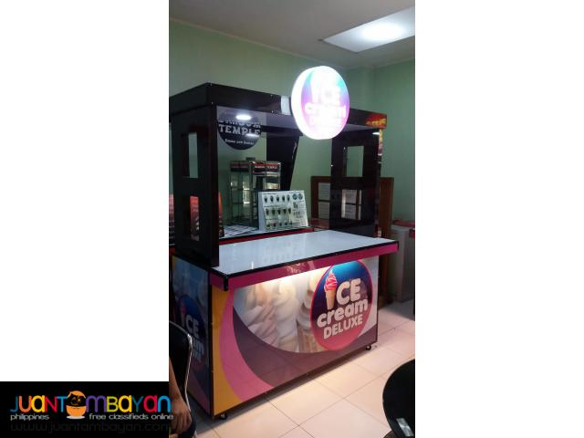 Ice Cream Deluxe Food Cart Franchise Business