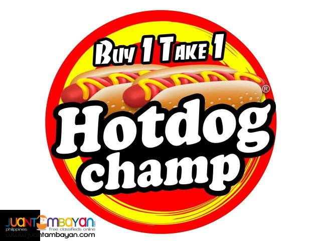 Hotdog Champ Food Cart Franchise Business
