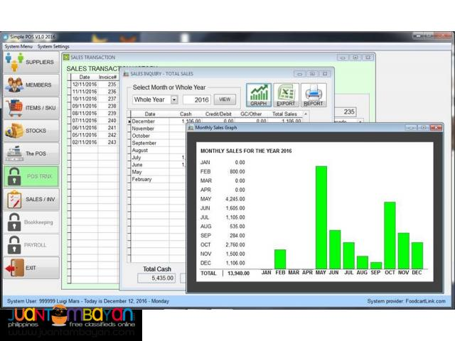 POS Point of Sale with Inventory Management