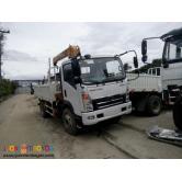 Brand New Sinotruk Homan Boom truck 6wheeler
