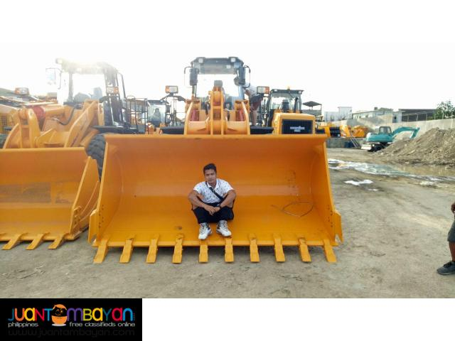 Bagong bago makinis CDM860 Wheel Loader (Weichai Engine) 3.5m3