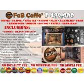 FaB Caffe' Franchise Business in the Philippines