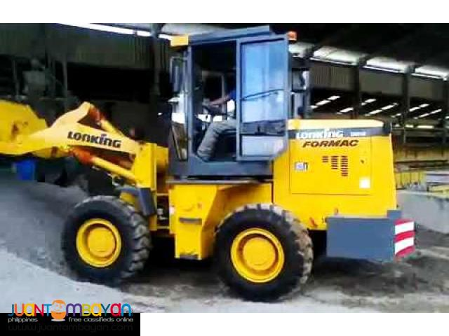 BRAND NEW LONKING CDM816 WHEEL LOADER