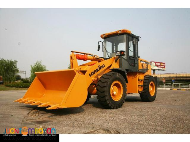 BRAND NEW LONKING CDM833 WHEEL LOADER