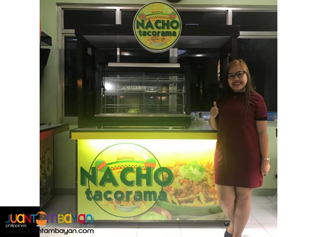 NACHOS, TACOS, HOTDOG, SHAWARMA FOOD CART FRANCHISE