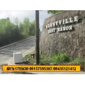 Residential lots for sale in angono rizal