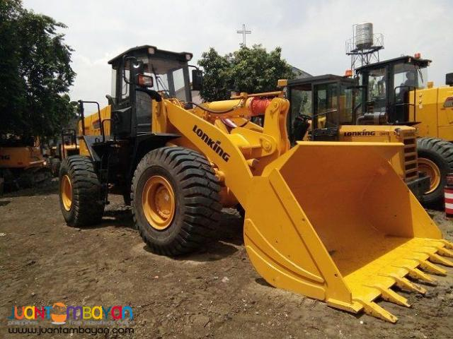 CDM860 Lonking Wheel Loader 3.5cbm Bucket Size Brand New