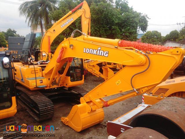 CDM6225 Lonking Hydraulic Excavator / Backhoe 1.1cbm Bucket Size