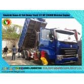 Sinotruk Howo-A7 10 Wheeler Dump Truck Brand New