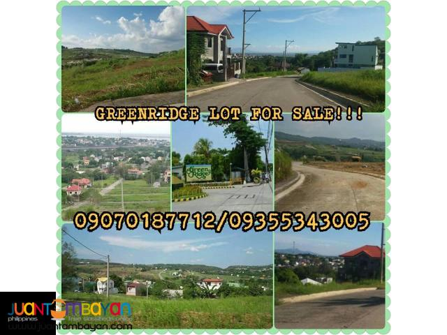 Greenridge Executive Village Lot Only For Sale