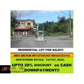 affordable Residential Lots in Taytay Rizal