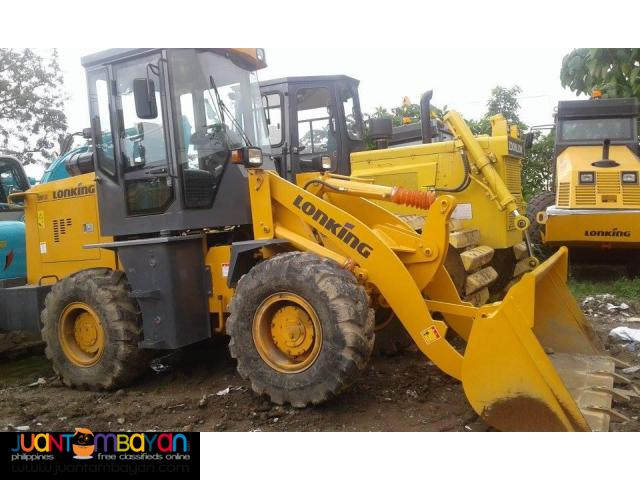 CDM816 Lonking Wheel Loader 1cbm Bucket Size New