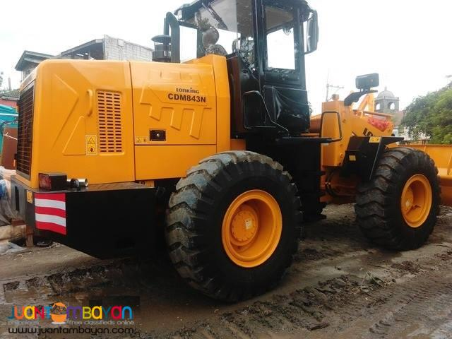CDM833 Lonking Wheel Loader 1.7cbm Bucket Size New