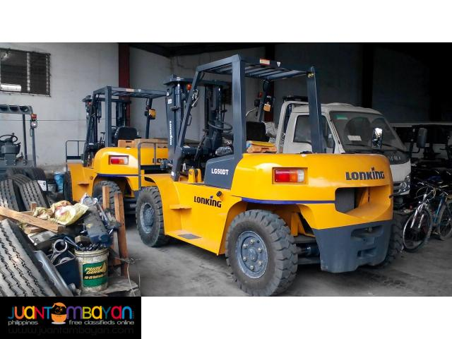 LG50DT Lonking Diesel Forklift 5Tons Brand New