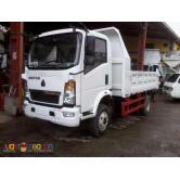 Sinotruk Homan 6Wheeler 4x2 4.5cbm Mini Dump Truck New