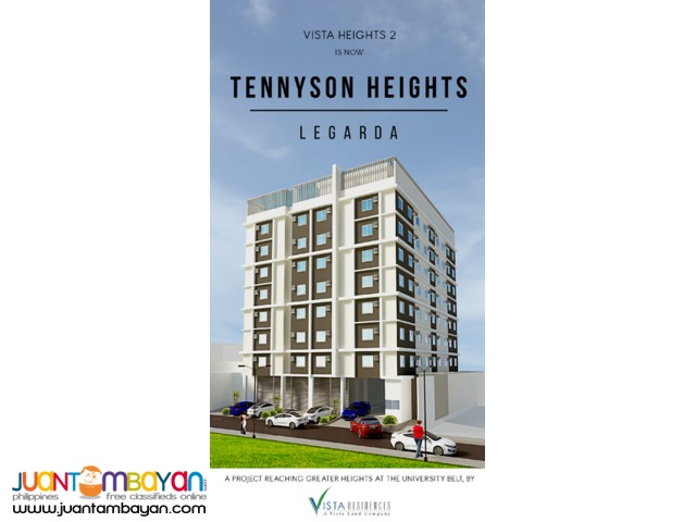 Tennyson Heights Pre-Selling Condo In Legarda Manila