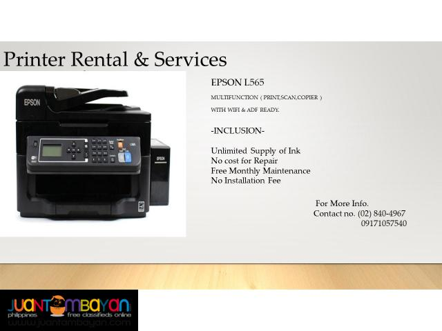 Printer Rental & Toner