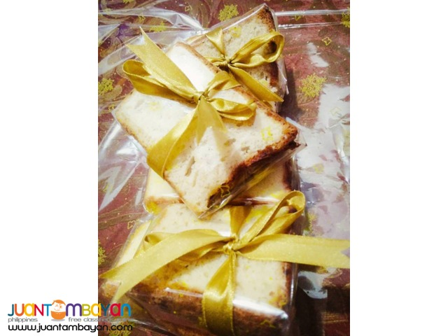 Banana Chiffon Cake - BEST SELLER