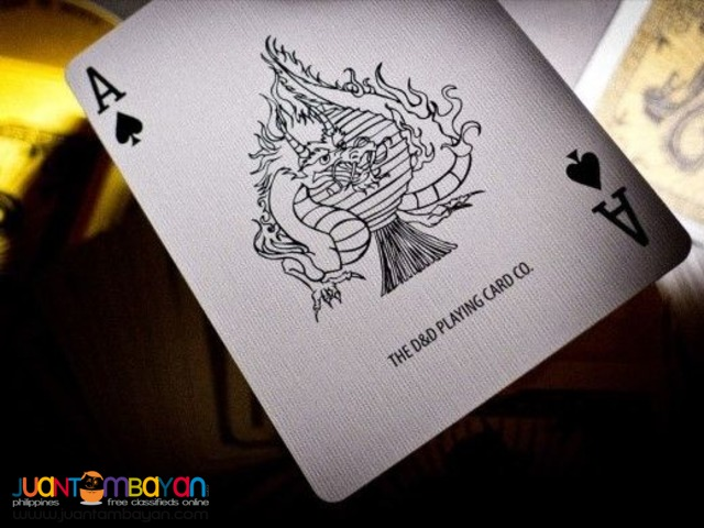 Fulton's Chinatown Game of Death Playing Cards