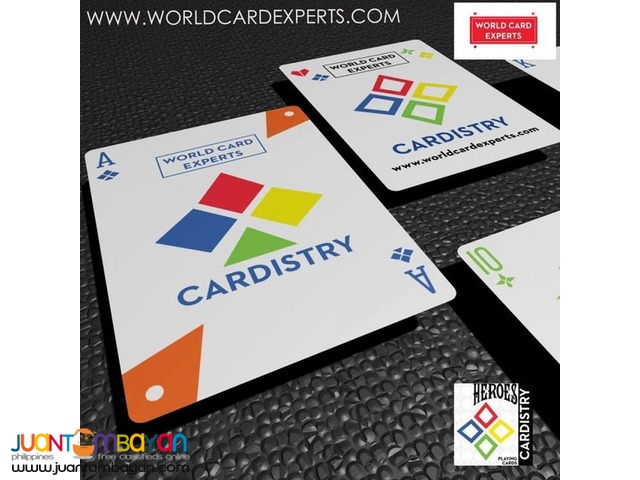 Bicycle Cardistry Heroes Playing Cards