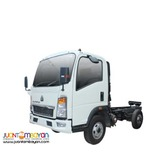 howo cab and chassis 4 wheeler
