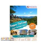 2D1N Baguio Package