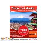 6D5N Japan Full Board Package via Jetstar