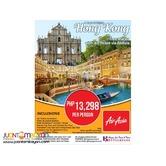 4D3N Hong Kong with Free Macau Package via AirAsia