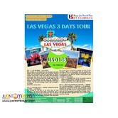 3D2N Las Vegas Free and Easy Package