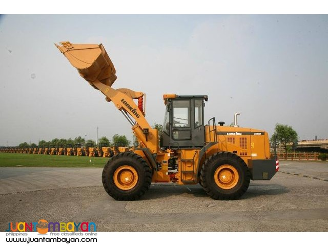 CDM835 Lonking Wheel Loader 1.8cbm Bucket Size New