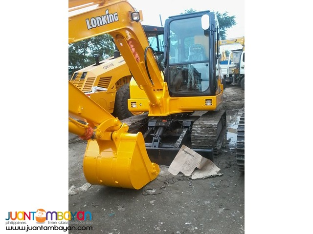 CDM6065 Lonking Hydraulic Excavator / Backhoe 1/4 Bucket Size New