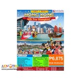 3D2N Hong Kong with Free Disneyland