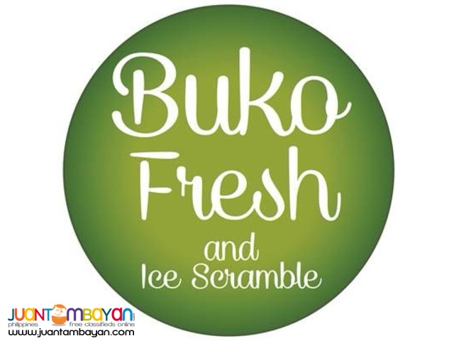Food Cart: Buko Fresh and Ice Scramble