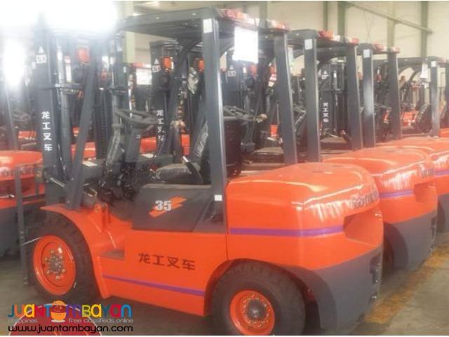 Brand New! Lonking LG35DT Diesel Forklift 3.5 tons
