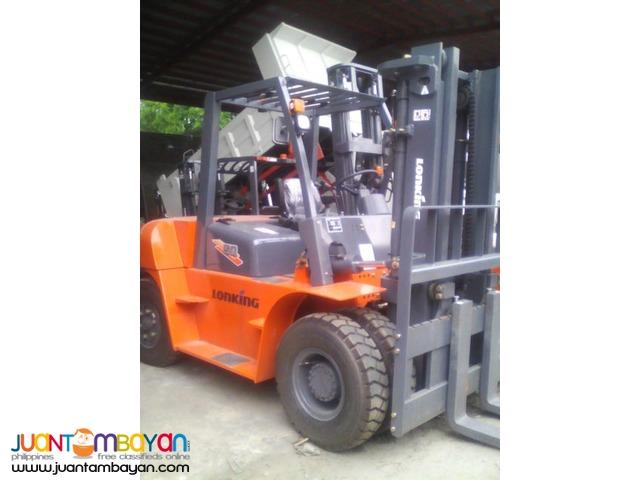 Brand New! Lonking LG50DT Diesel Forklift 5Tons