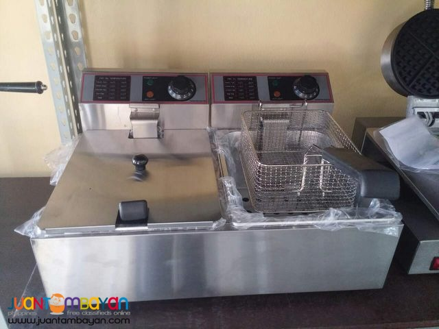 Electric Deep Fryer (DOUBLE)