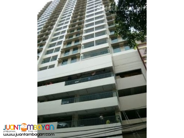 STUDIO TYPE CONDO UNIT FOR SALE ACROSS UST MANILA