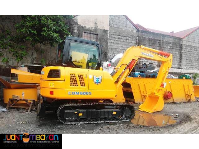 BRANDE NEW! LONKING CDM6065 BACKHOE EXCAVATOR 0.87-1.0 CUBIC