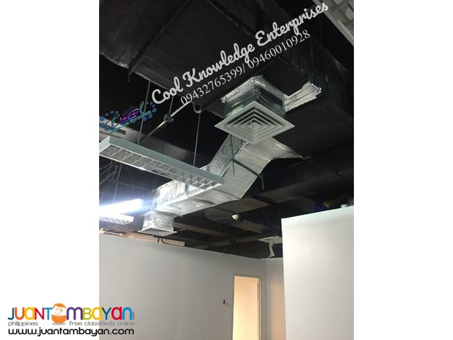 Ducting Works and Chilled Water Residential And Commercial