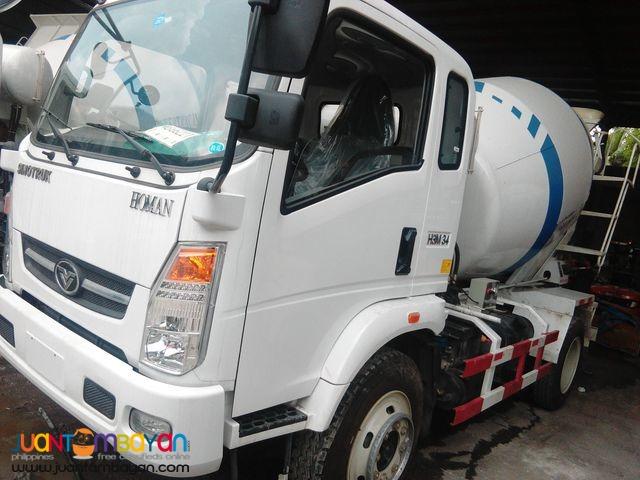 6 Wheeler Transit Mixer Truck 4m³