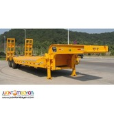 New Two-Axle Lowbed Semi-Trailer 45Tons Capacity
