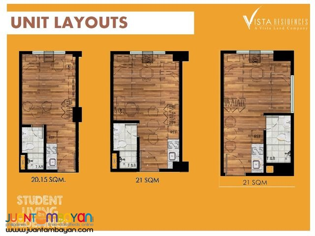 FOR SALE STUDIO VISTA LAONG LAAN PRE-SELLING CONDO NEAR UST