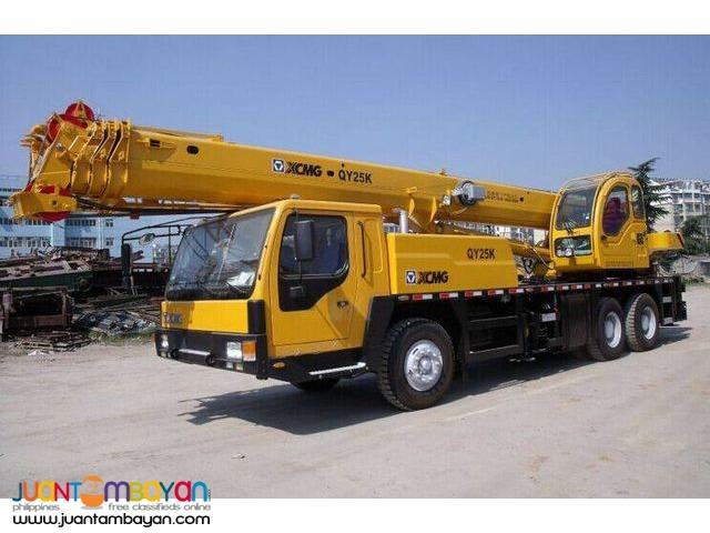 QY25K-II Tower Crane XCMG (Weichai Engine WD615.329