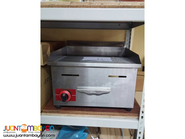 GAS GRIDDLE (1 Burner)